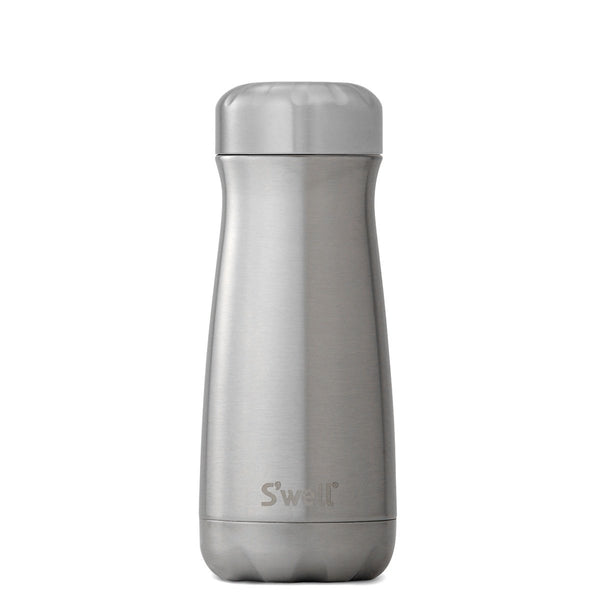 S'Well | S'Well Bottle 470ml Traveller Shimmer Collection Silver Lining | Shut the Front Door
