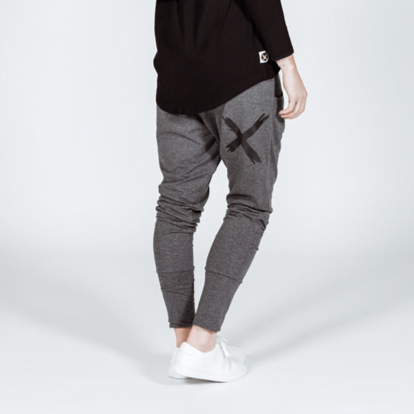 Home-lee | Apartment Pants - Black Out - Dark Grey | Shut the Front Door