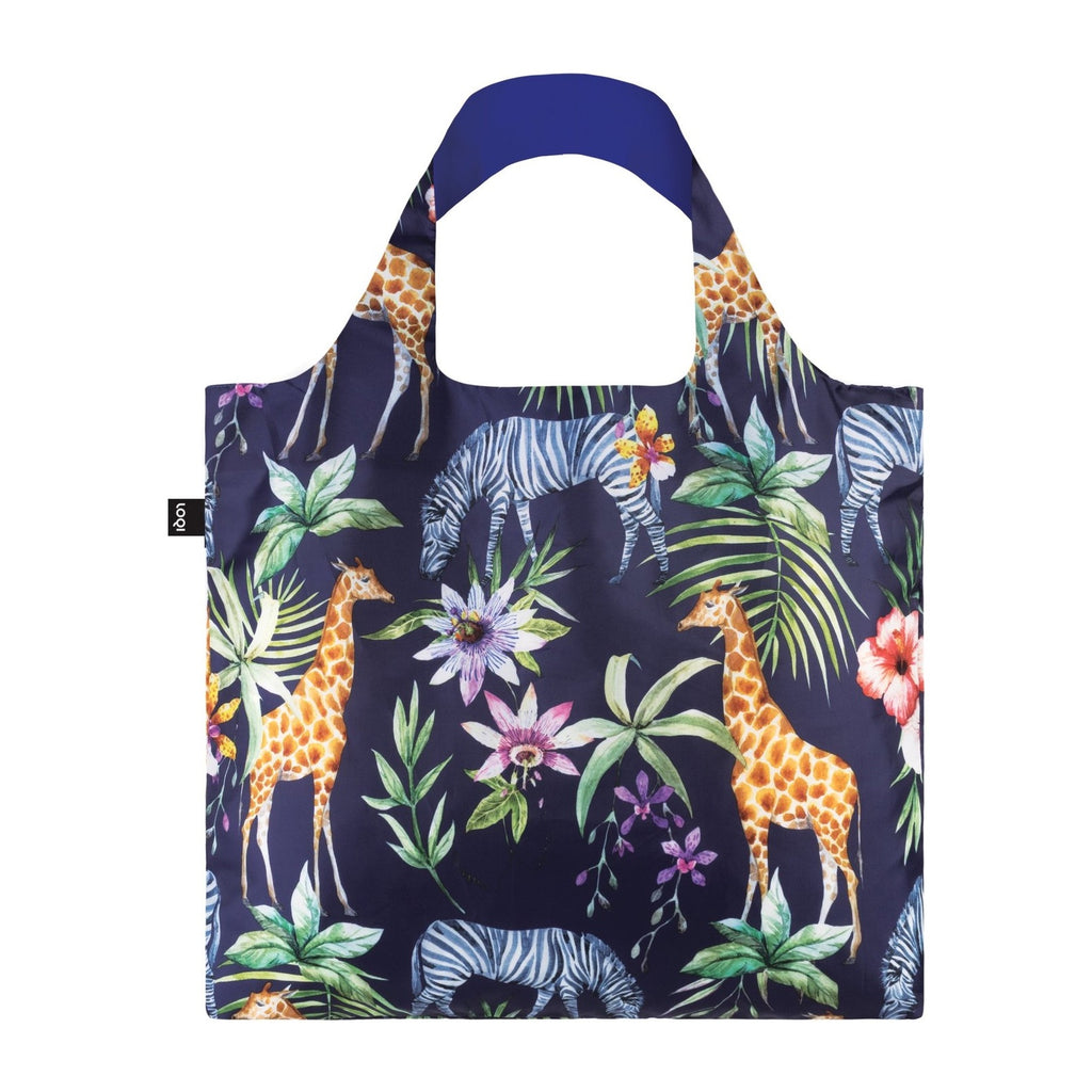 Loqi | Loqi Shopping Bag - Zebras | Shut the Front Door