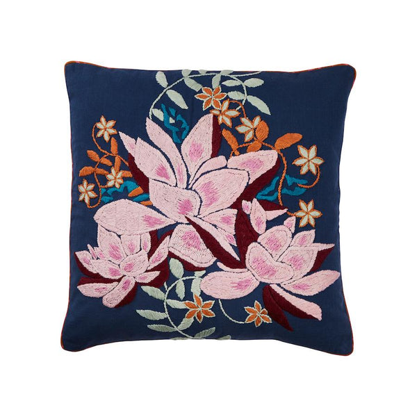 SAGE & CLARE | Lovina Embroidered Cushion | Shut the Front Door
