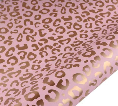 hiPP | Big Cat Wrapping Paper - Pink  & Gold | Shut the Front Door
