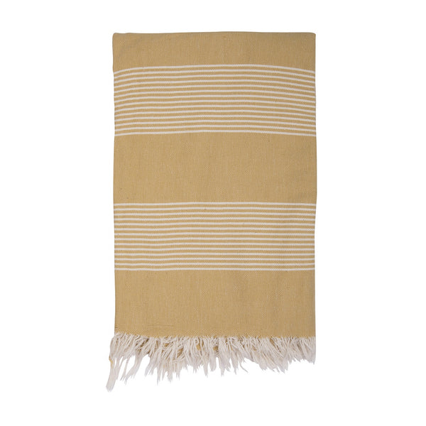 Shut the Front Door | Amber Turkish Towel - Mustard | Shut the Front Door