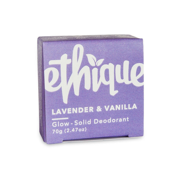 Ethique | Glow Deodorant Lavender & Vanilla | Shut the Front Door