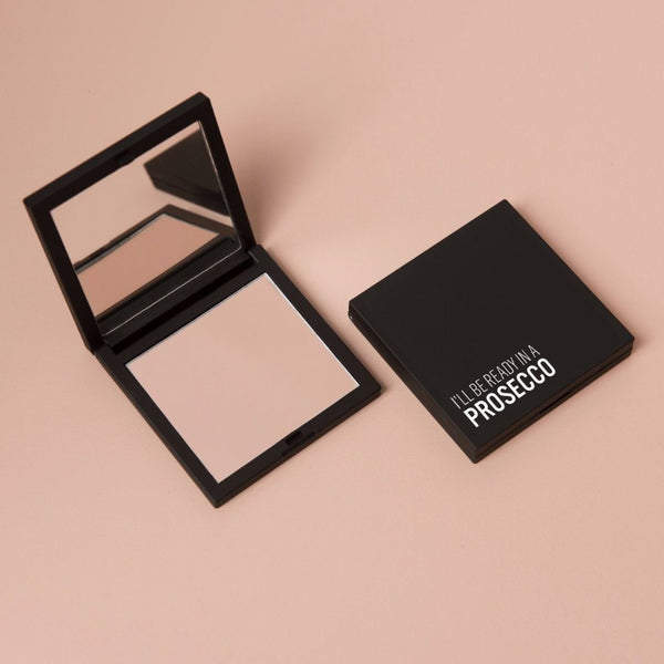 Say It With Polish | Compact Mirror Duo - I'll Be Ready in a Prosecco | Shut the Front Door