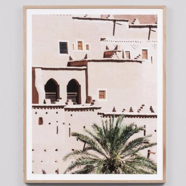 Middle of Nowhere | Framed Print Morocco | Shut the Front Door