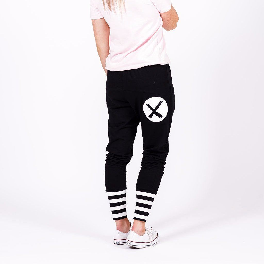 Home-lee | Apartment Pant Black White X | Shut the Front Door
