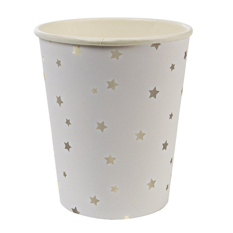 Meri Meri | Silver Stars Party Cups | Shut the Front Door