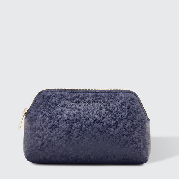 Louenhide | Scout Cosmetic Pouch - Navy | Shut the Front Door