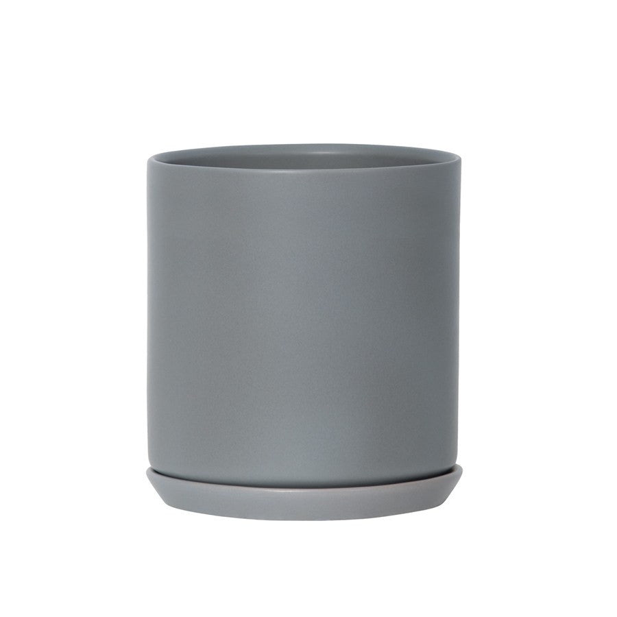 General Eclectic | Oslo Planter Grey Fog XL | Shut the Front Door