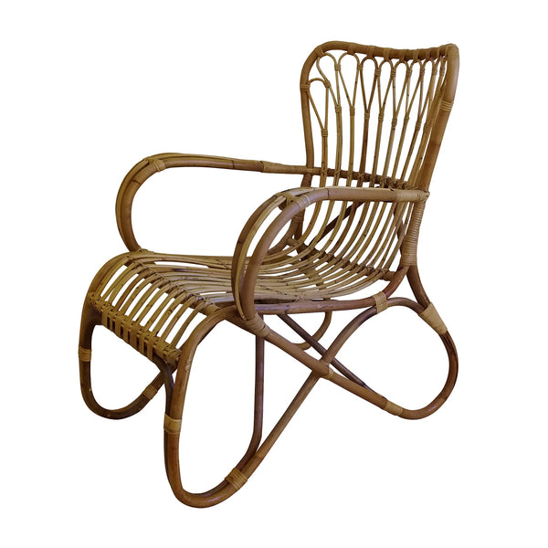 General Eclectic | Miles Rattan Chair | Shut the Front Door