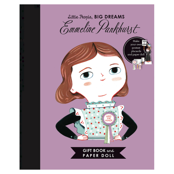 Allen & Unwin | Emmeline Pankhurst Paper Doll (Little People Big Dreams) | Shut the Front Door