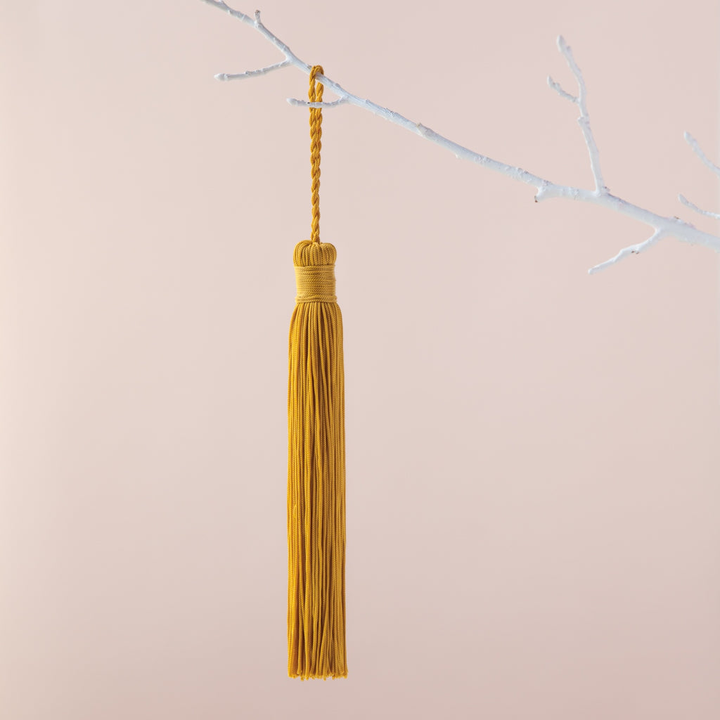 Down to the Woods | Tassel in Ochre | Shut the Front Door