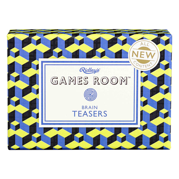 Ridleys | Games Room Brain Teasers Quiz V2 | Shut the Front Door