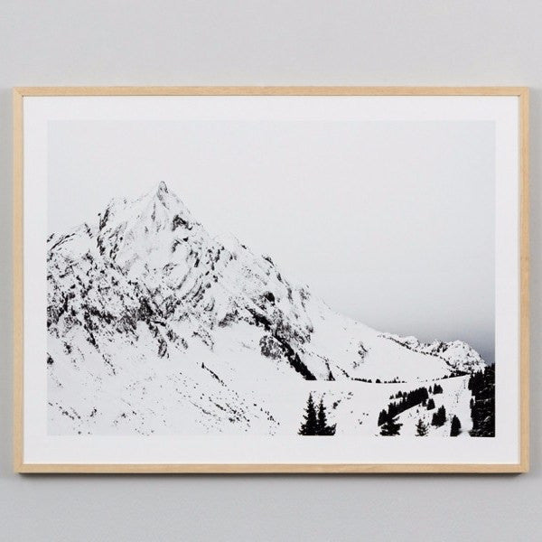 Middle of Nowhere | Framed Print Alps | Shut the Front Door