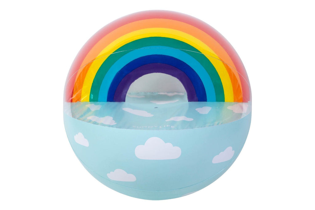 Sunnylife | XL Inflatable Ball Rainbow | Shut the Front Door