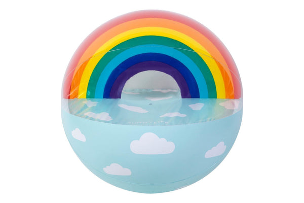 Sunnylife | XL Inflatable Rainbow Beach Ball | Shut the Front Door