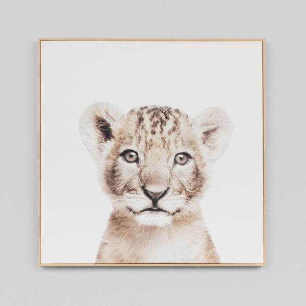 Middle of Nowhere | Framed Canvas Print Loveable Cub | Shut the Front Door