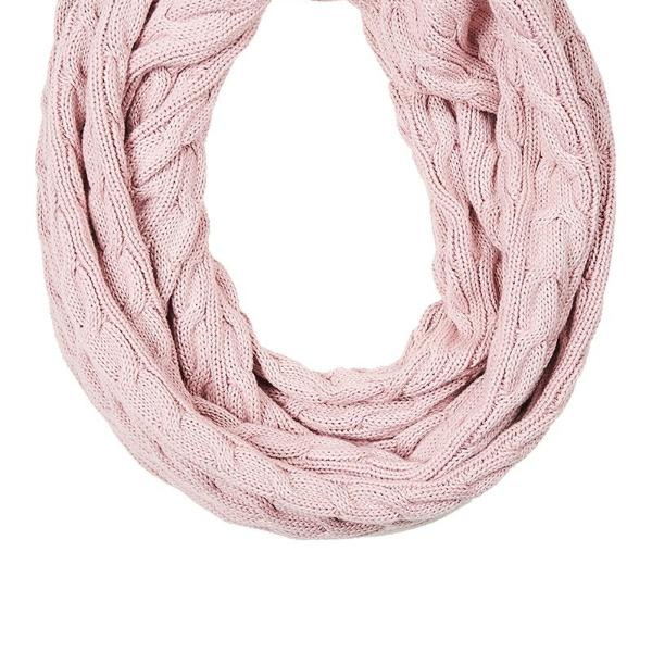 eb & ive | Palmaz Snood Blush | Shut the Front Door