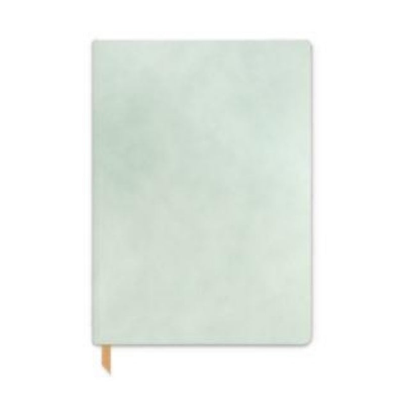 Designworks | Notebook Large Vegan Leather - Mint | Shut the Front Door