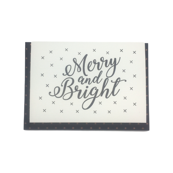Katie Leamon | Katie Leamon Merry And Bright Card | Shut the Front Door