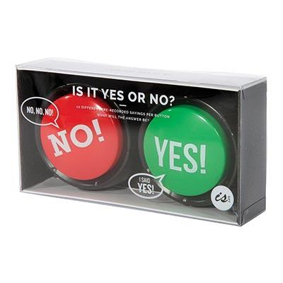 IS Gifts | Is It Yes Or No Button | Shut the Front Door