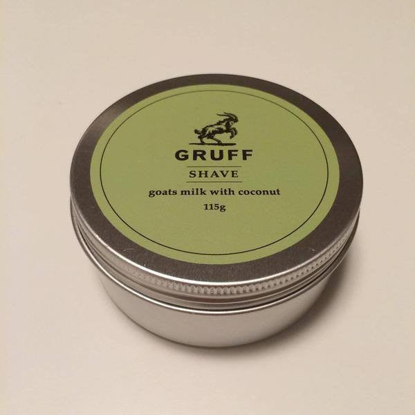 Gruff | Gruff Shaving Soap | Shut the Front Door