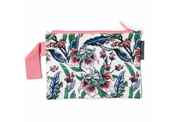 Project Ten | Mini Zip Pouch - Botanical | Shut the Front Door