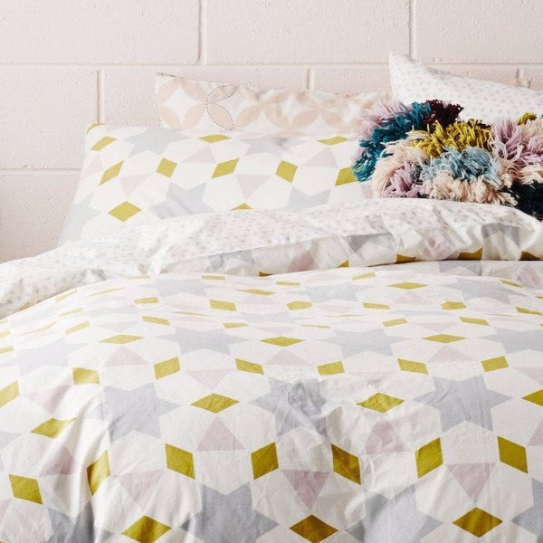 SAGE & CLARE | Grace Quilt Cover QUEEN | Shut the Front Door