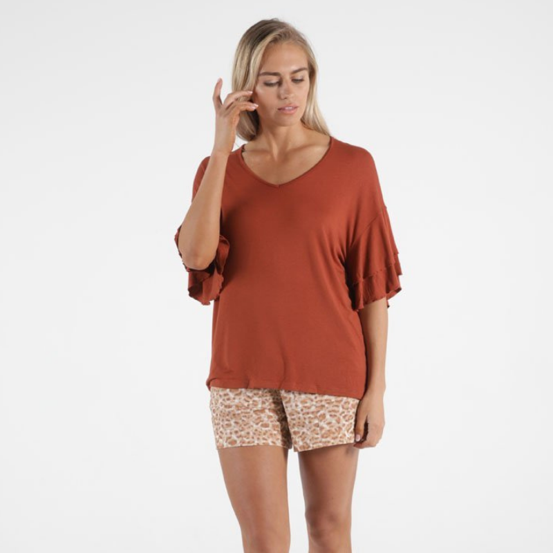 Betty Basics | Ripon Top - Terracotta | Shut the Front Door