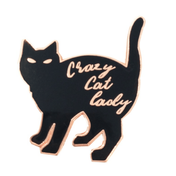 Not specified | Pin Crazy Cat Lady | Shut the Front Door