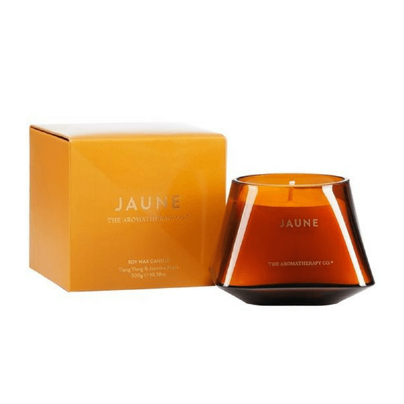The Aromatherapy Co | Jewel Candle - Jaune | Shut the Front Door