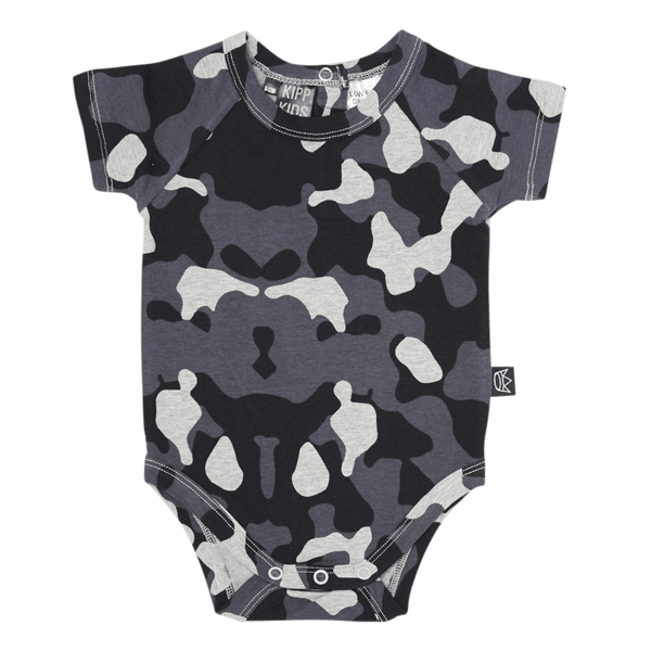 Kipp Kids | Onesie Short Sleeve Camo | Shut the Front Door