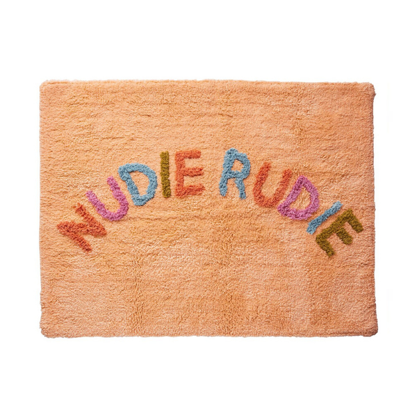 SAGE & CLARE | Tula Nudie Rudie Bath Mat - Tigre | Shut the Front Door