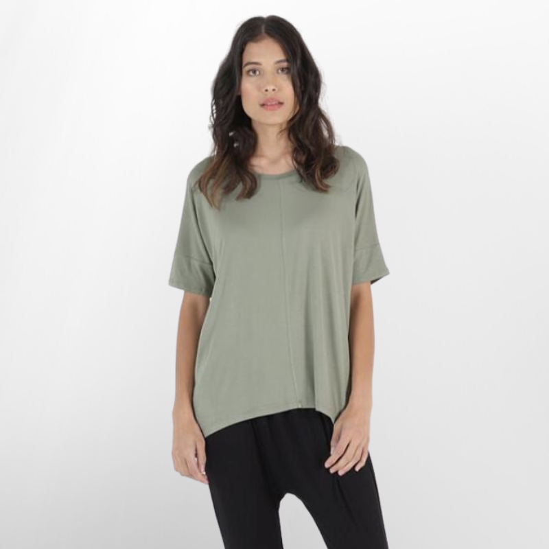Betty Basics | Cambridge Tee - Avocado | Shut the Front Door