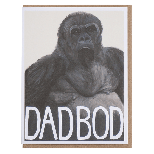 Pigeon Whole | Fathers Day Card - Dad Bod | Shut the Front Door