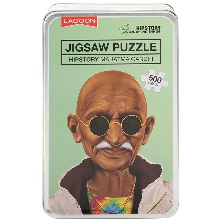 Hipstory | Hipstory Jigsaw - Gandhi | Shut the Front Door