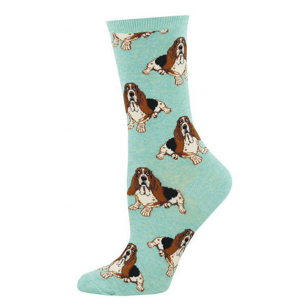 Socksmith | Socks Womens Nothing But A Hound HMint | Shut the Front Door