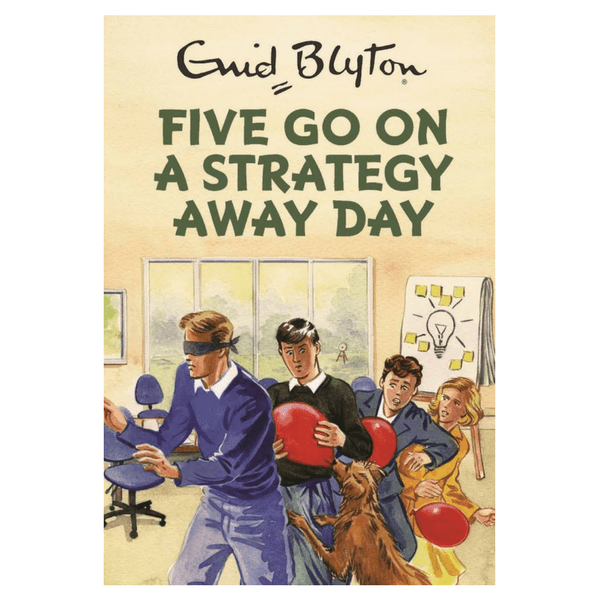 Quercus | Five Go On A Strategy Away Day (Enid Blyton for Grown Ups) | Shut the Front Door