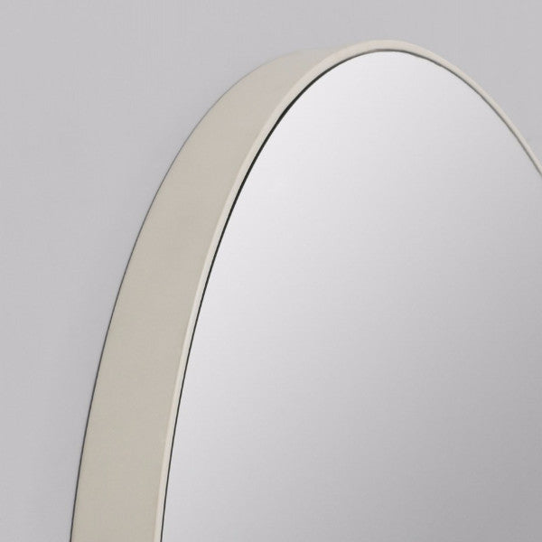Middle of Nowhere | Flynn Round Mirror 50cm GREY | Shut the Front Door