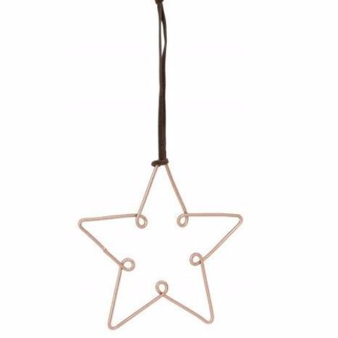 General Eclectic | Star Wire Decoration Set 6 Copper | Shut the Front Door