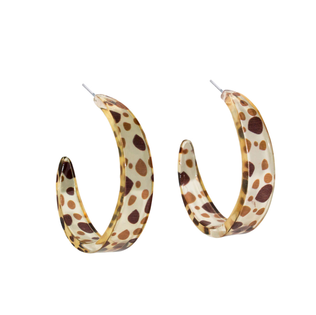 Holiday Accessories | Echo Earrings - Animal | Shut the Front Door