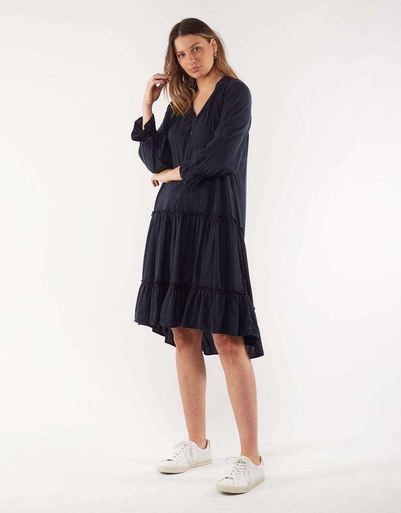 Foxwood | Julia Dress - Navy | Shut the Front Door