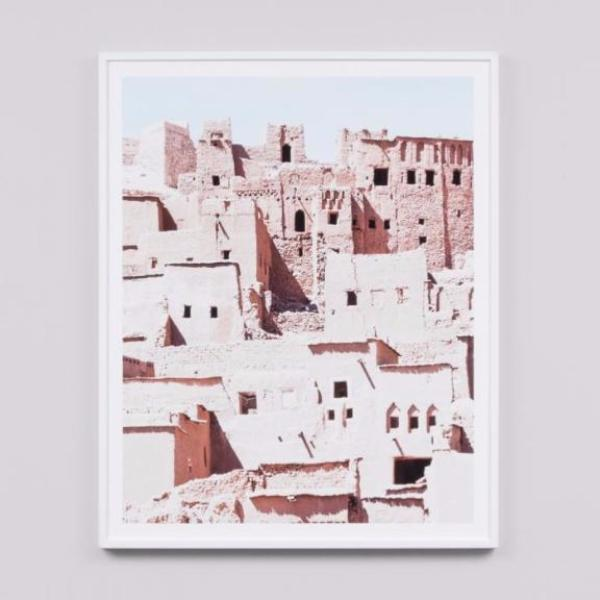 Middle of Nowhere | Framed Print Kasbah | Shut the Front Door
