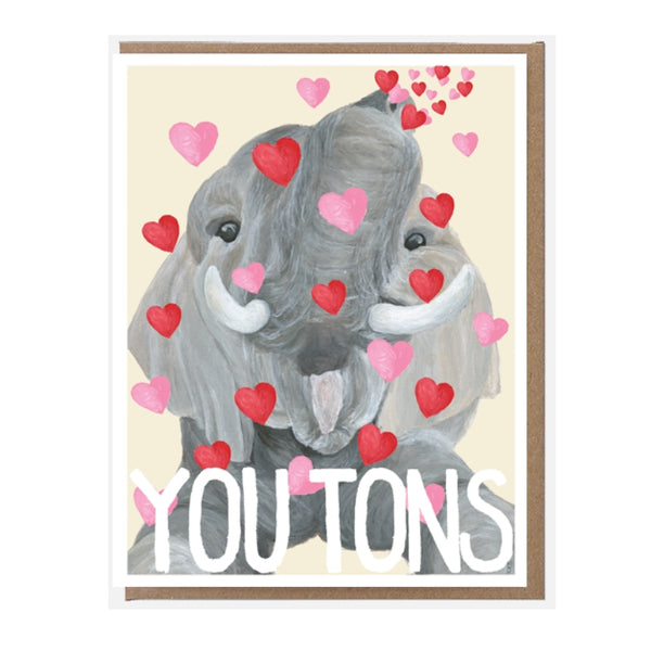 Pigeon Whole | Card - Love You Tons | Shut the Front Door