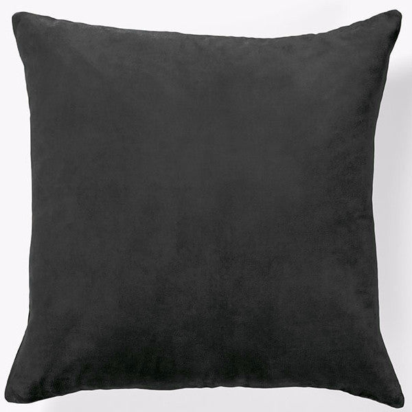 Aura | Cushion Lux Velvet CHARCOAL | Shut the Front Door