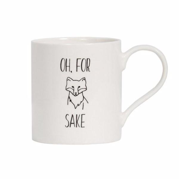 General Eclectic | For Fox Sake Mug | Shut the Front Door