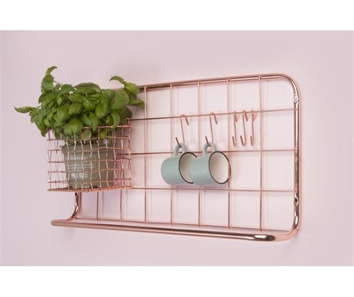 PT home | Kitchen Rack Copper | Shut the Front Door