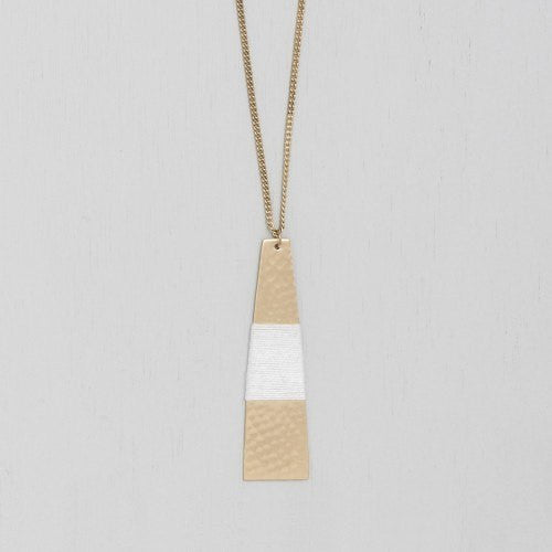 Ruby + Jet | Athena Necklace | Shut the Front Door