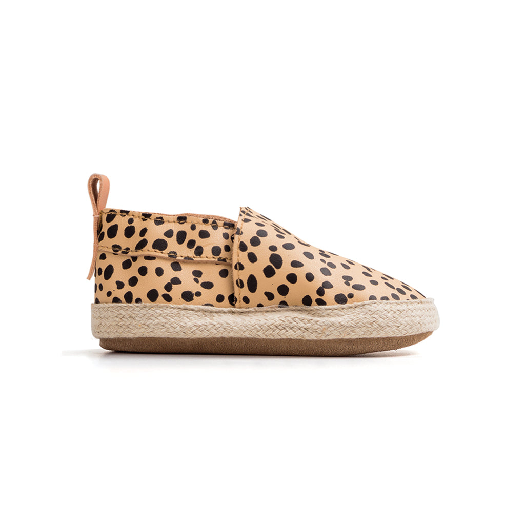 Pretty Brave | Baby Espadrille - Safari Spots | Shut the Front Door