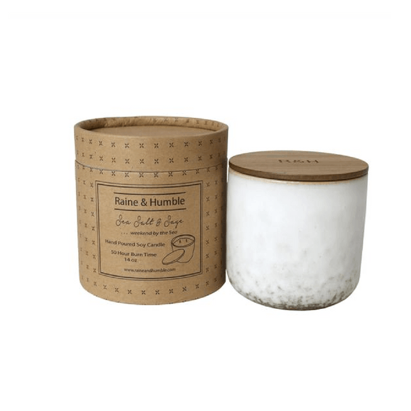 Parnell | Soy Candle Sea Salt and Sage | Shut the Front Door